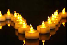 Светодиодная свеча с имитацией пламени 1 шт