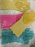 Силиконовые многофункциональные перчатки-щетки для мытья и чистки Magic Brush, фото 9