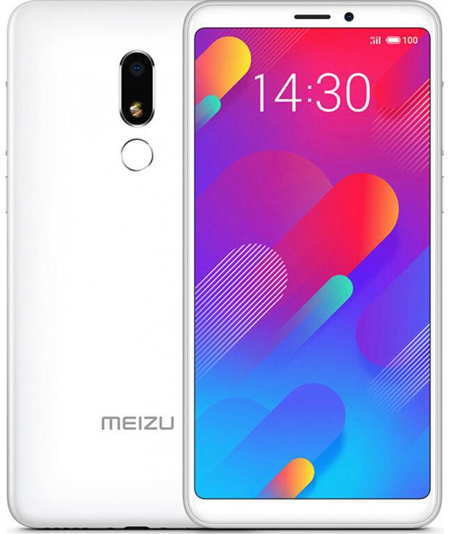 Сенсорный мобильный телефон Meizu M816H M8 Lite 3/32Gb LTE Dual White EU