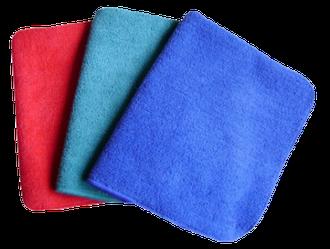 Набір серветок з мікрофібри (3шт.) для прибирання