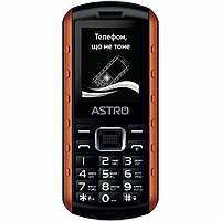 Мобильный телефон Astro A180 RX Black Orange, фото 1