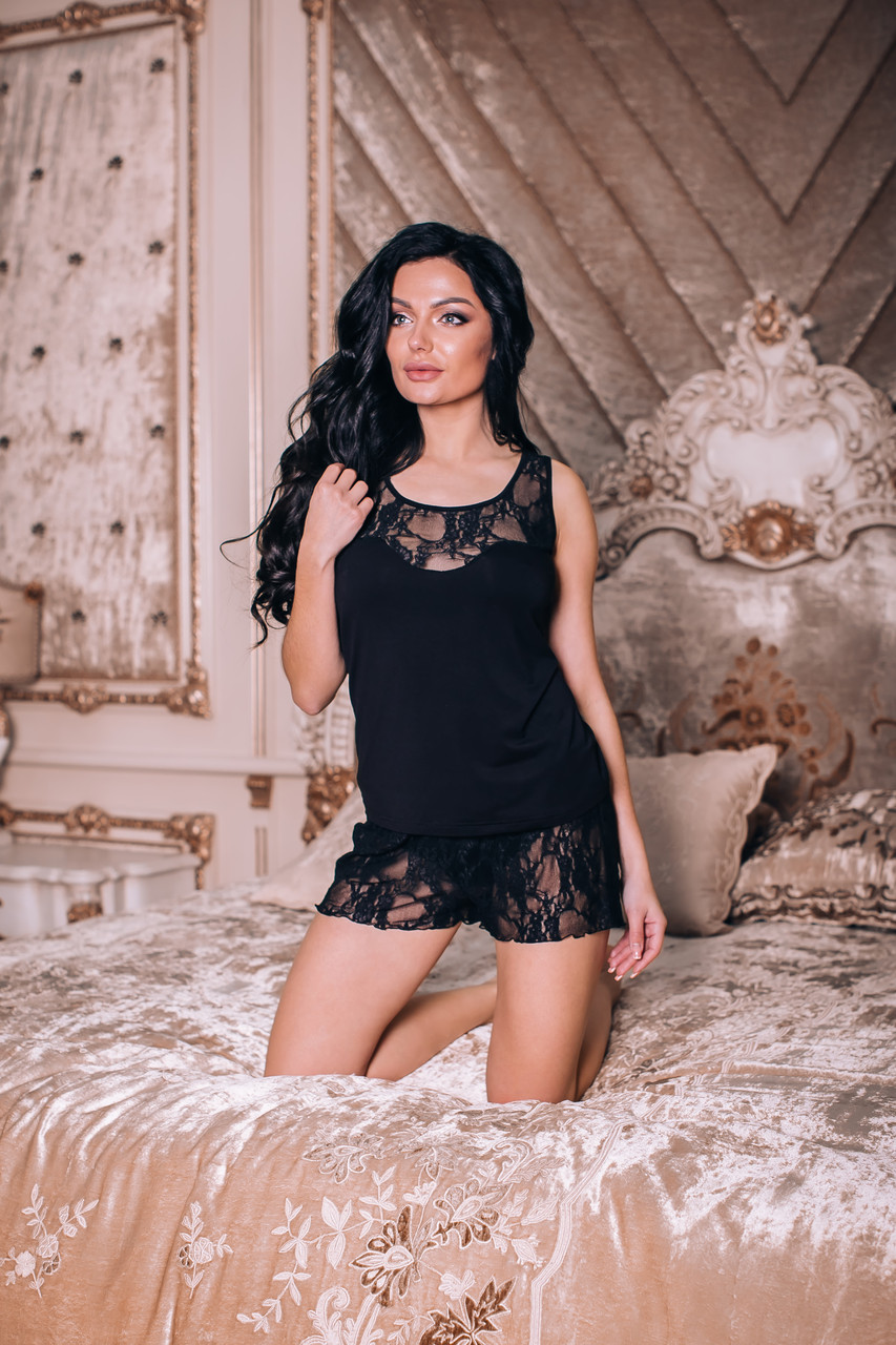 Пижама женская. Shato 1428 black