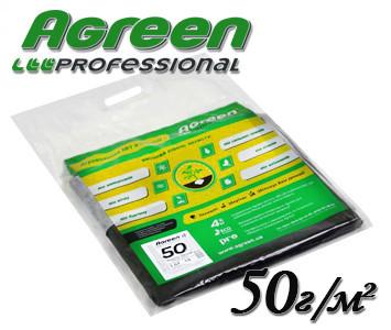 Агроволокно черно-белое Agreen 50 г/м² 3,2х10м пакетированное