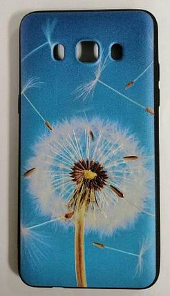 Силикон для Samsung (J510) 3D Black (Dandelion), фото 2