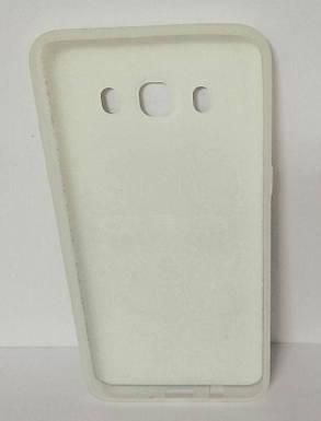 Силикон для Samsung (J510) 3D Scull White, фото 2