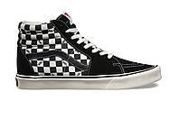 Кеды мужские Vans SK8-Hi Lite Black & White Checkerboard  (Реплика ААА класса)
