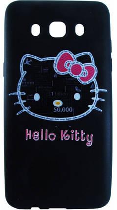 Силикон для Samsung J510 3D Hello Kitty, фото 2
