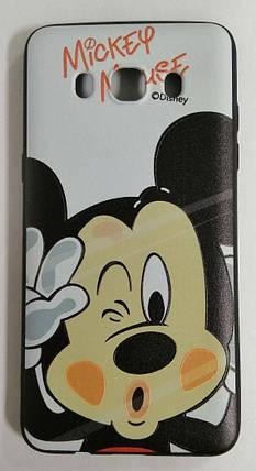 Силикон для Samsung J510 3D Disney Black, фото 2