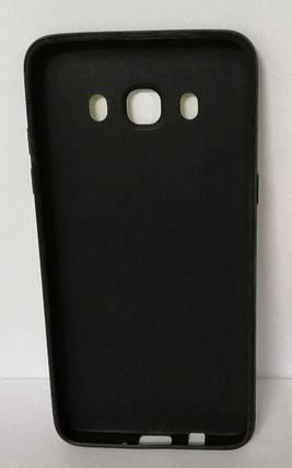 Силикон для Samsung J510 3D Flowers Black, фото 2