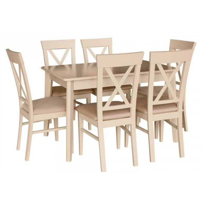 Стіл обідній розкладний Лекс латте Fusion Furniture