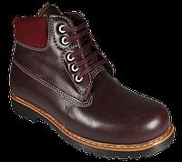 Ботинки ортопедические 06-734, бордовый, 26, фото 1