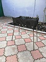 Мангал-чемодан на 10 шампуров N, фото 1