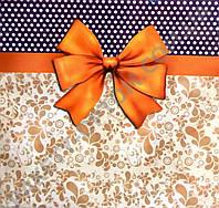 Пакет бумажный подарочный ЧАШКА 16х16х8см - 115