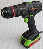 Шуруповерт аккумуляторный ударный Stromo SA214Li, фото 4