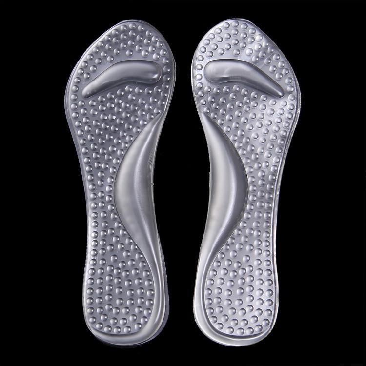 Стельки гелевые для женской офисной обуви 05005-03 цвет прозрачный