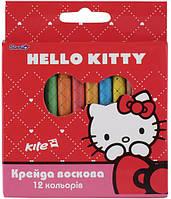 Мел восковый 8цветов, Хеллоу Китти. HK13-070K