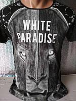 Мужская футболка двухсторонняя Warrior Турция опт р. M, L, XL, XXL