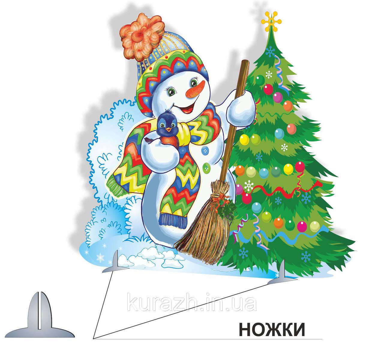 """Декорация """"Снеговик"""""""