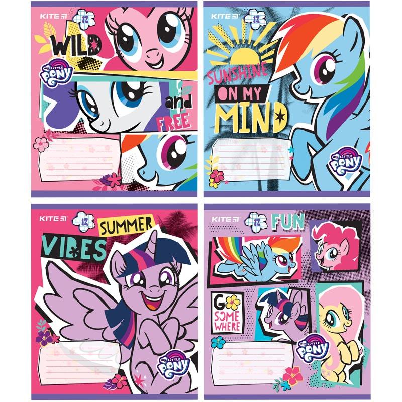 Тетрадь школьная Kite My Little Pony LP19-232, 12 листов, клетка