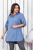 Рубашка туника в расцветках 26731, фото 1