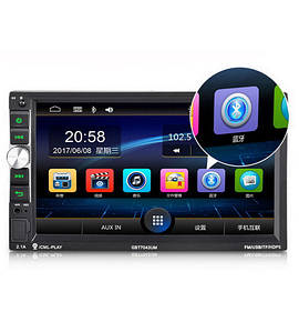 Автомагнитола 2Din Pioneer 7043CRB USB,SD, Video + Пульт  на руль