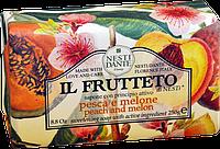 "Мыло ""Персик и дыня"" IL FRUTTETO Nesti Dante, 250 гр"