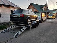 Прицеп для перевозки легкового автомобиля. Эвакуируем неисправную технику в места технического обслуживания