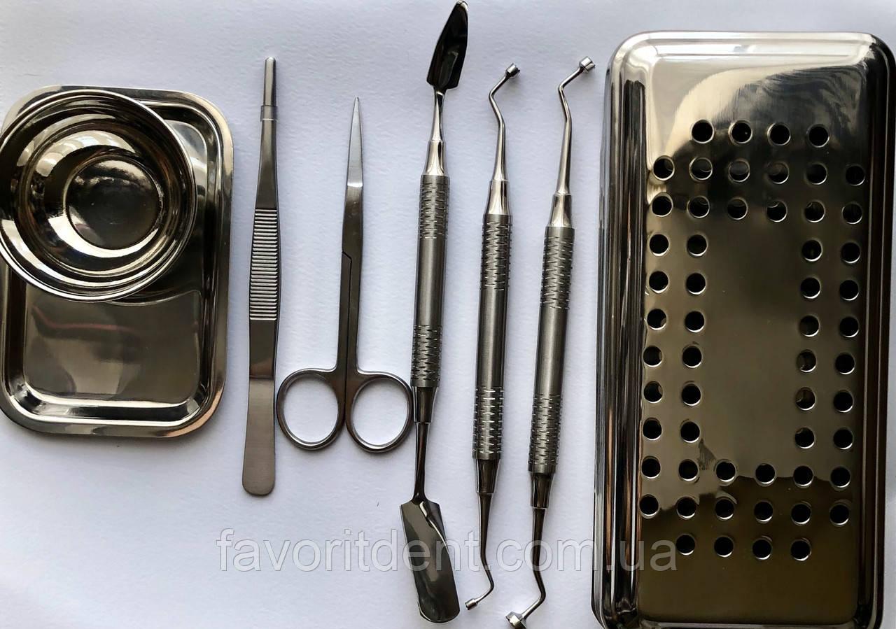 PRF box с инструментами, бокс для получения мембран