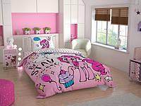 Детское подростковое постельное белье TAC Disney Little Pony Sweet Ранфорс