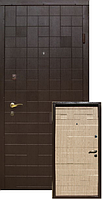 Входные Двери Венге темный/Венге светлый 2050х860 мм