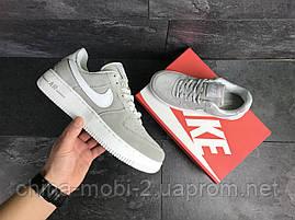 Кроссовки в стиле Air Force AF 1 серые. Код 7461, фото 3