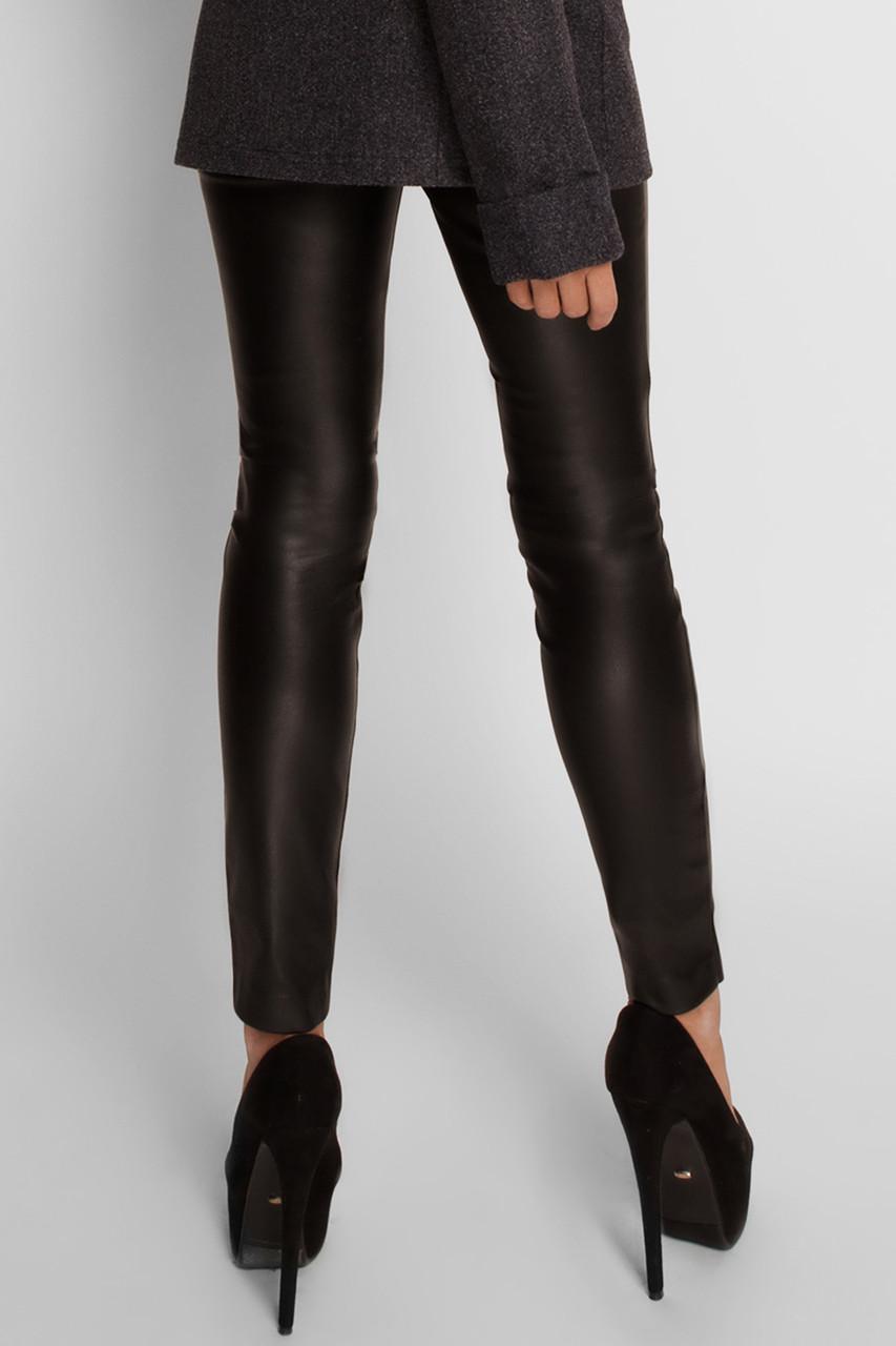 стильные черные брюки