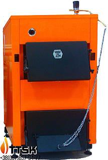 Твердотопливный котел ДТМ КТ мощностью 10 кВт