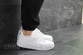 Кроссовки в стиле Air Force AF 1 белые. Код 7464, фото 2