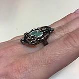 Красивое кольцо изумруд и родолит в серебре. Размер 18,5-19 кольцо с изумрудом и родолитом Тайланд, фото 8