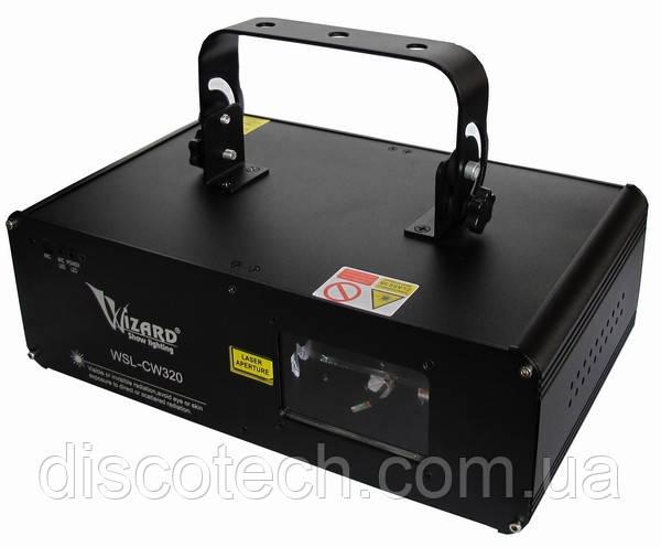 Лазер лучевой R-100mW, G-50mW Wizard WSL-CW320