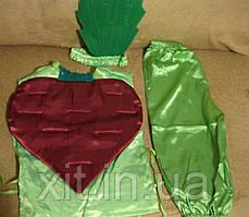 Детский карнавальный костюм Свекла