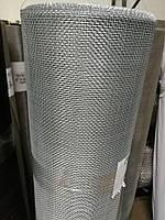 Сетка тканая из оцинкованной проволоки, Ячейка 2,5мм, Проволока 0,5мм,  Ширина 1м
