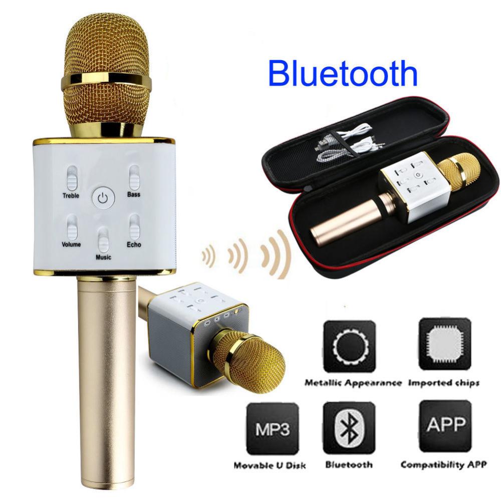 Универсальный микрофон Wireless microphone Q7