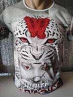 Мужская футболка двухсторонняя LEOPARD Турция опт р. M, L, XL, XXL