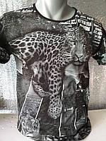 Мужская футболка двухсторонняя Africa Турция опт р. M, L, XL, XXL