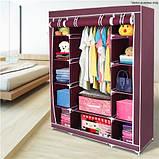 Складной каркасный тканевый шкаф Storage Wardrobe 88105, фото 2