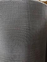 Сетка тканая из нержавеющей проволоки, Ячейка 2,5мм, Проволока 0,5мм,  Ширина 1м