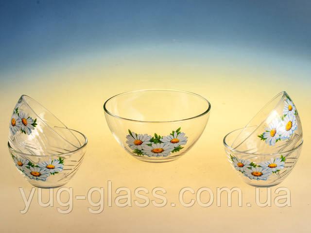 Наборы стеклянных салатниц