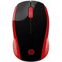 Мышка беспроводная HP Wireless Mouse 200 Red (2HU82AA)