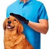 Перчатка для вычесывания шерсти домашних животных - True Touch, фото 2