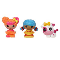 Набор с куклами КРОШКАМИ LALALOOPSY - КАРАМЕЛЬКА И СКАЗОЧНИЦА (2 куклы, питомец)