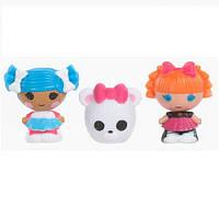 Набор с куклами КРОШКАМИ LALALOOPSY - СНЕЖИНКА И УМНИЦА ОТЛИЧНИЦА (2 куклы, питомец)