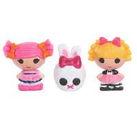 Набор с куклами КРОШКАМИ LALALOOPSY - ФОКУСНИЦА И ЯГОДКА (2 куклы, питомец)
