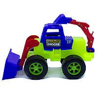 Дитяча іграшка Бульдозер Maximus «DIGGER землекоп»  арт. 5157